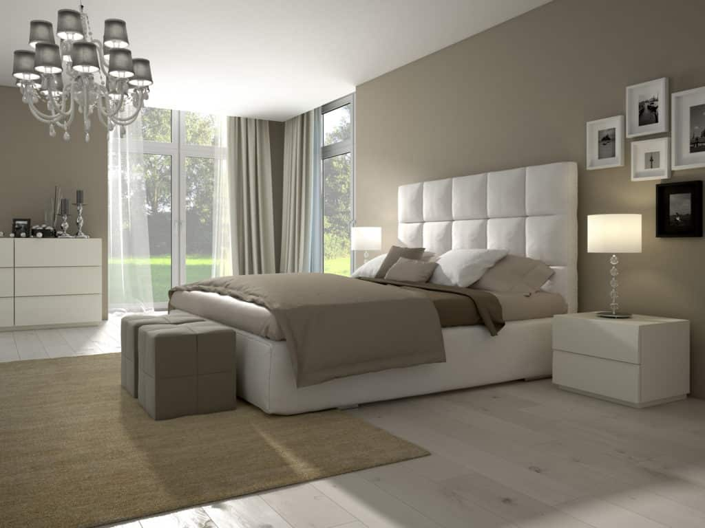 chambre coucher aux couleurs naturelles. Black Bedroom Furniture Sets. Home Design Ideas