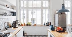 Nos conseils déco pour une cuisine ouverte au style industriel en bas de cet article.